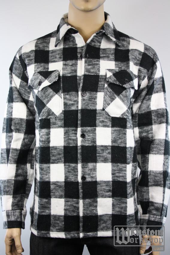 chemise de bucherons carreaux noir et blanc kustom. Black Bedroom Furniture Sets. Home Design Ideas