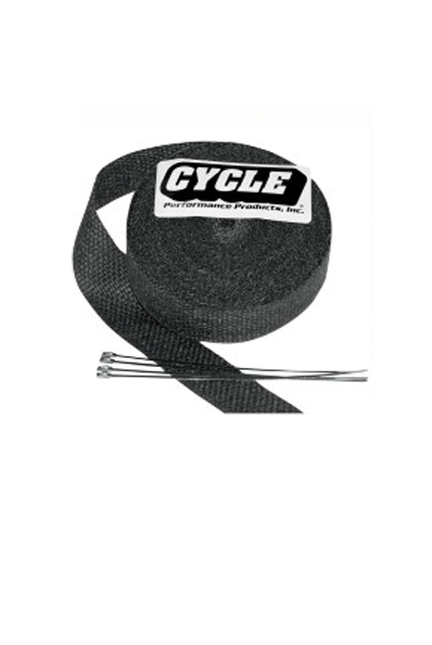 bandes thermiques cycle performance products exhaust wrap kit. Black Bedroom Furniture Sets. Home Design Ideas