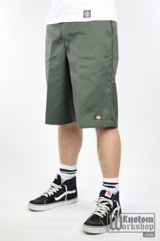 Short Dickies 13'' Flat front work short olive