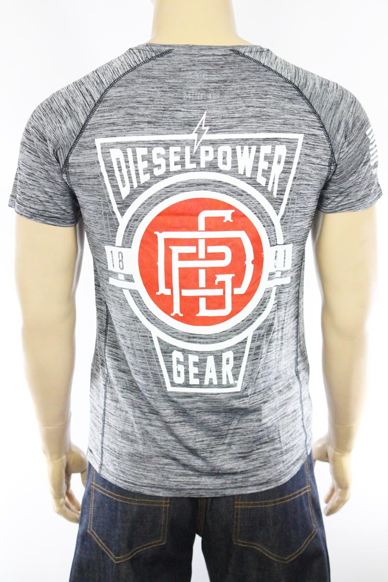 T-shirt Diesel Power Gear Sigil Technical