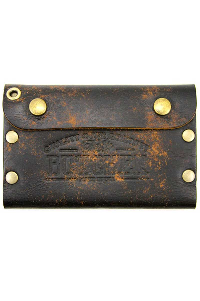 Rusty Butcher deadbeat wallet vintage