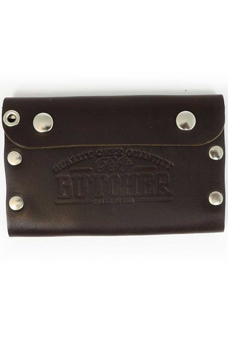 Rusty Butcher deadbeat wallet brown