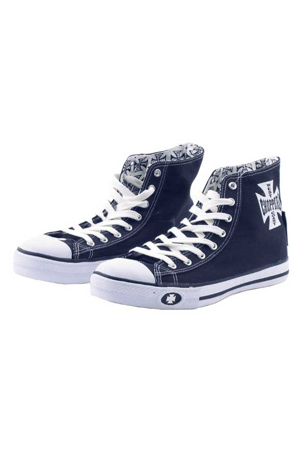 Baskets West Coast Choppers Bleues