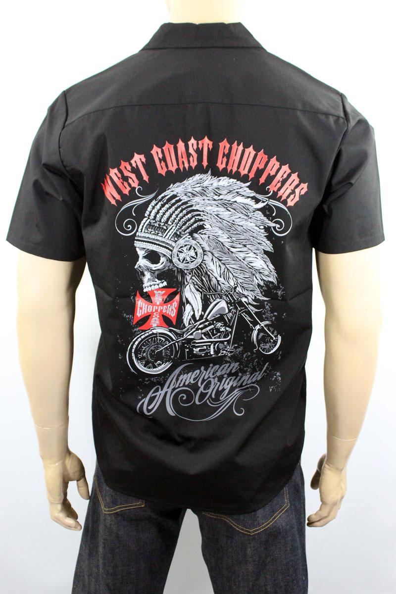 Chemise West Coast Choppers Chief Workshirt