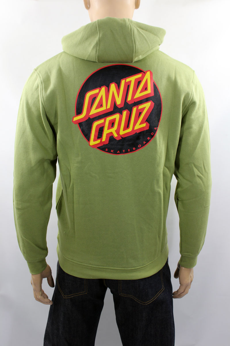 Hoodie Santa Cruz Other Dot Sage