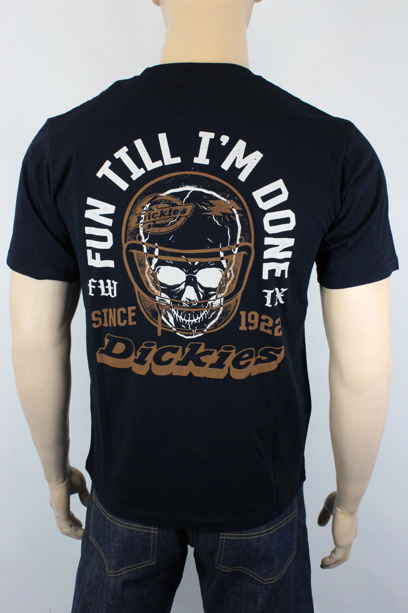 T-shirt Dickies Statham Black