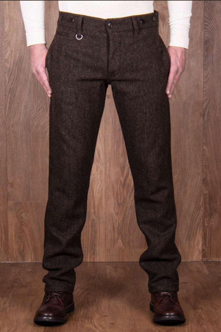 Pike Brother 1923 Buccanoy Pant Upland brown