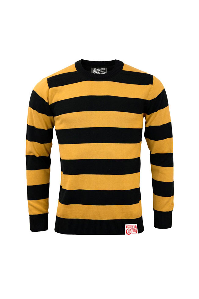 Outlaw sweater 13 1/5 Black & yellow