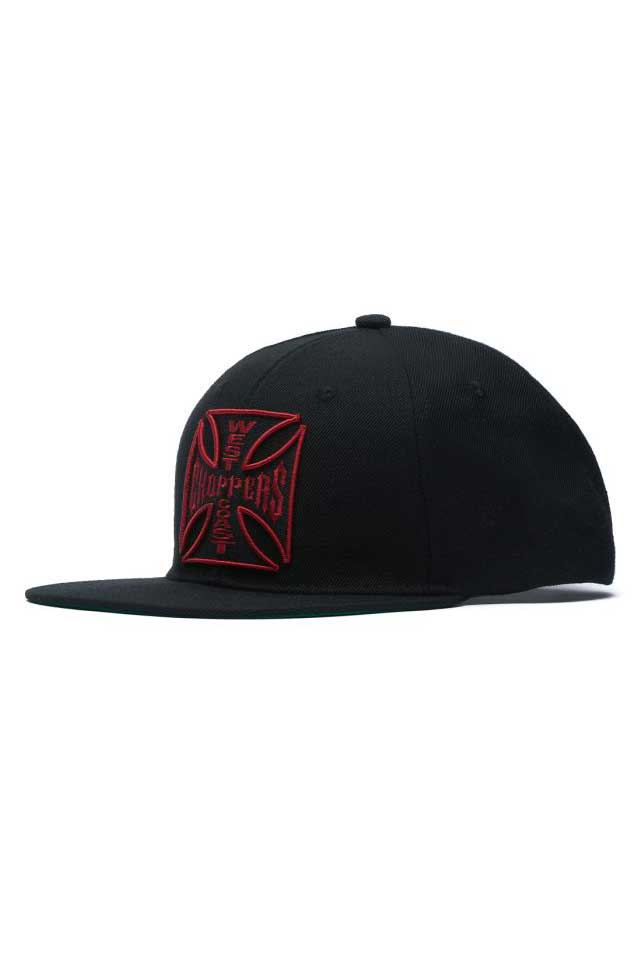 Casquette Flat bill BURGUNDY West Coast Choppers