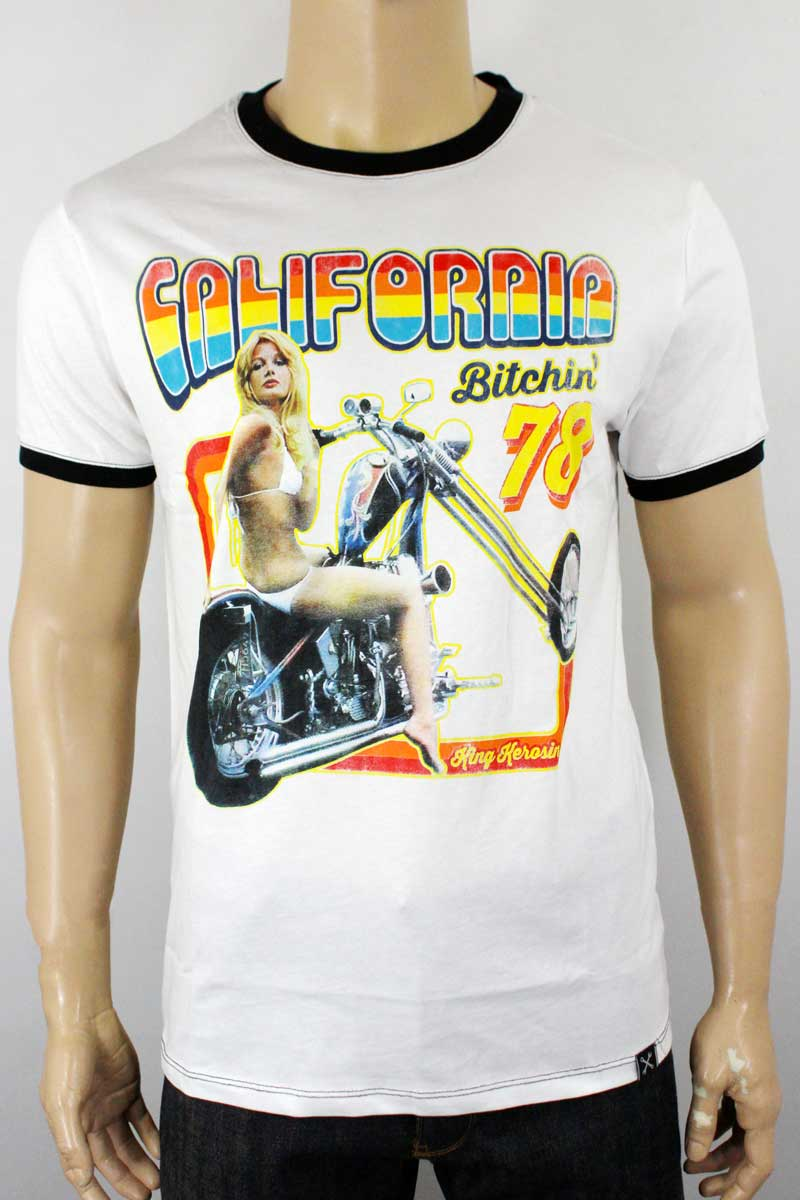 T-shirt King Kerosin California bitchin