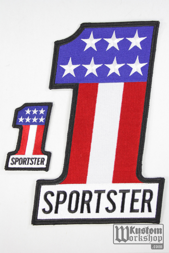 "Patch Sportster number one "" dos """