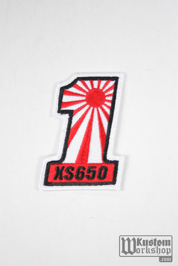 "Patch XS 650 number one "" torse """
