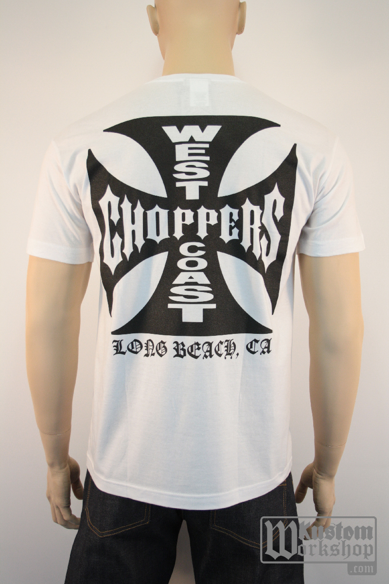T-shirt  West Coast Choppers Classic white