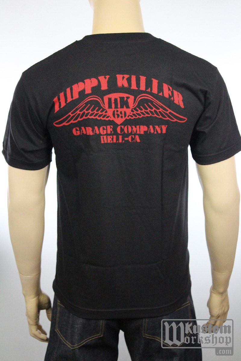 T-Shirt Hippy Killer Red Wings