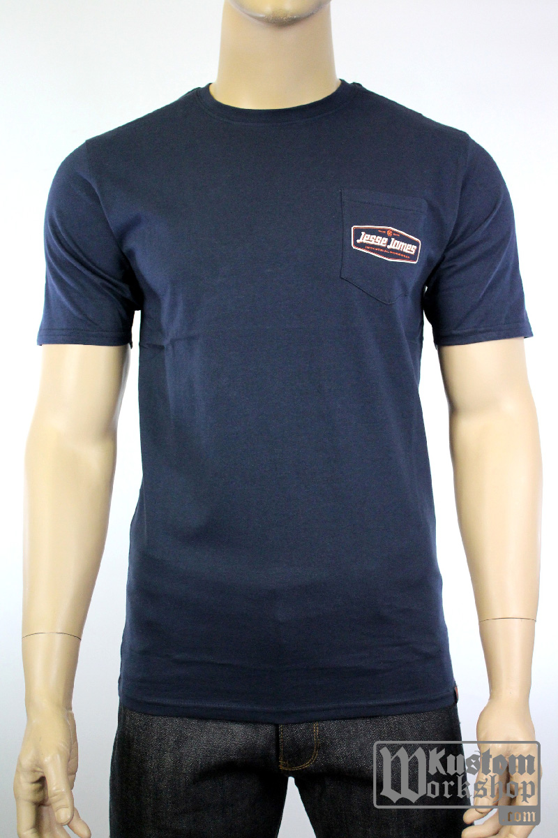 T-shirt Jesse James Workwear pocket tee