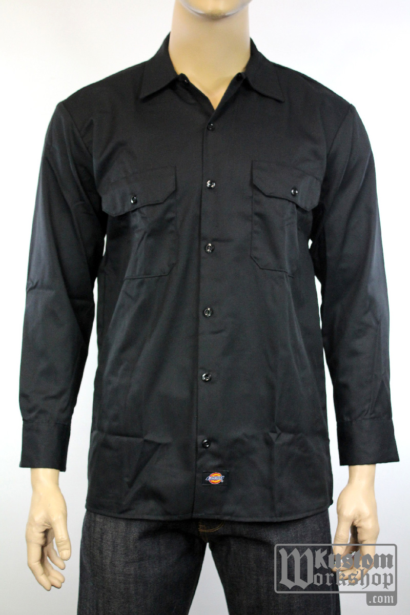 Chemise Dickies classique workshirt manches longues
