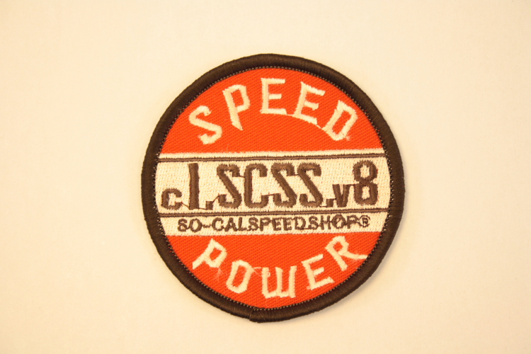 Patch So-Cal Speed power
