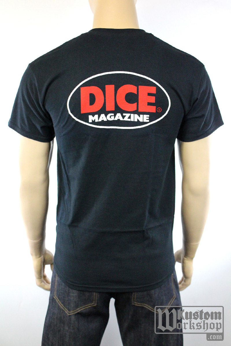 T-shirt Dice Magazine