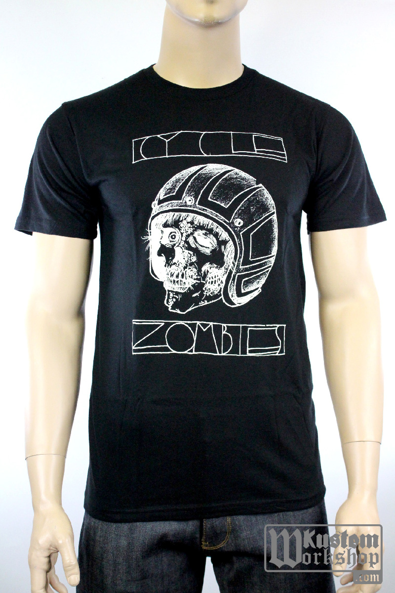 T-Shirt Cycle Zombies Lizardseye