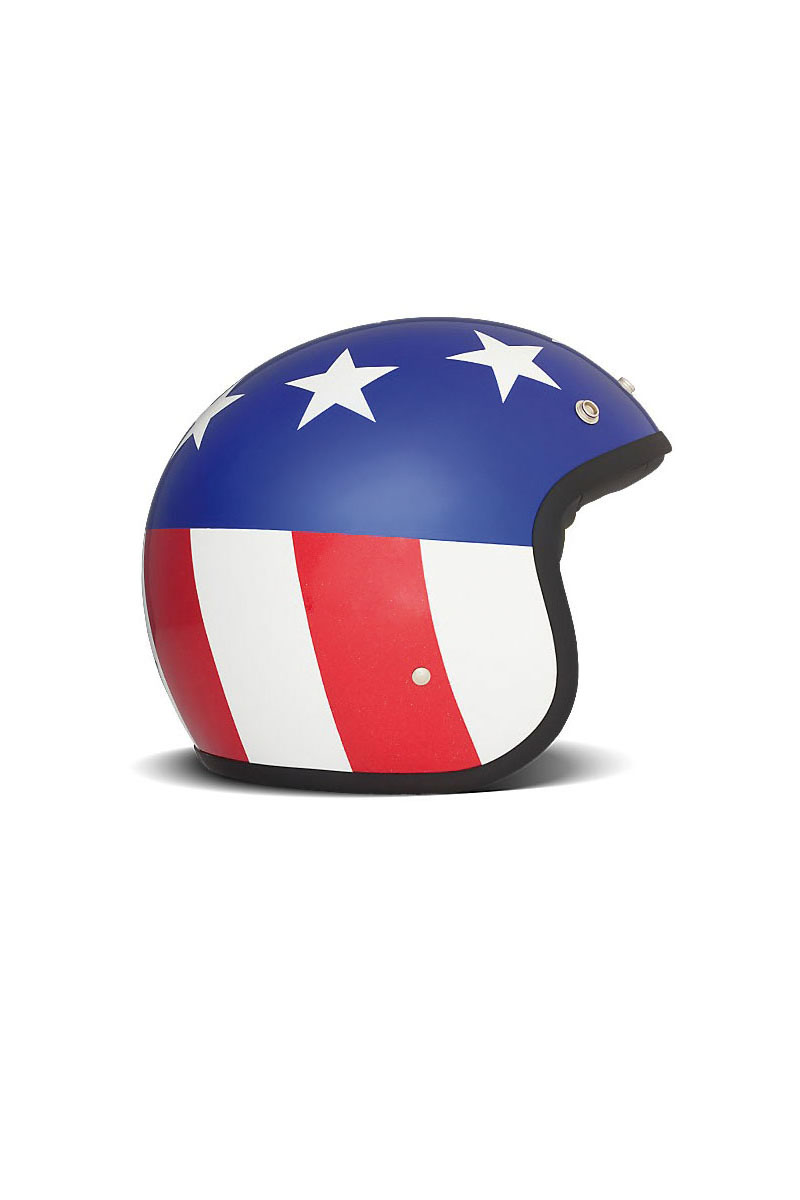 Casque DMD Vintage USA Flag