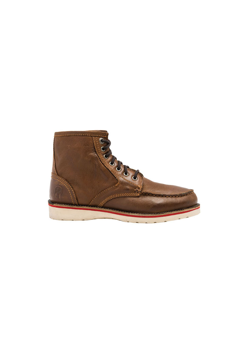 Chaussures Jesse James Workwear Camel