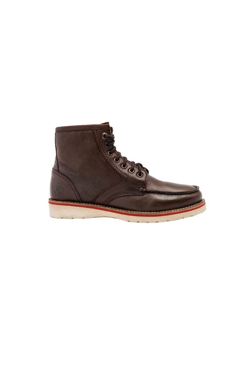 Chaussures Jesse James Workwear Marrons