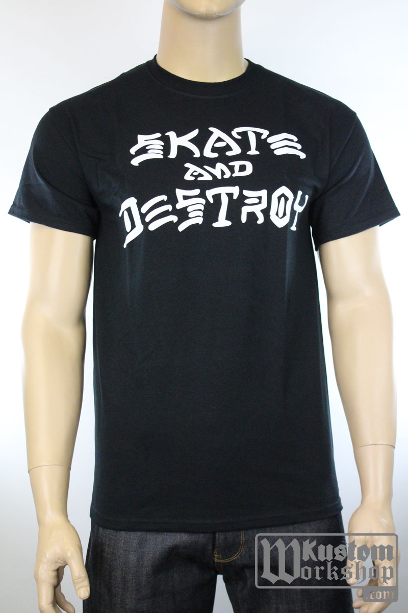T-shirt Thrasher Skate & Destroy