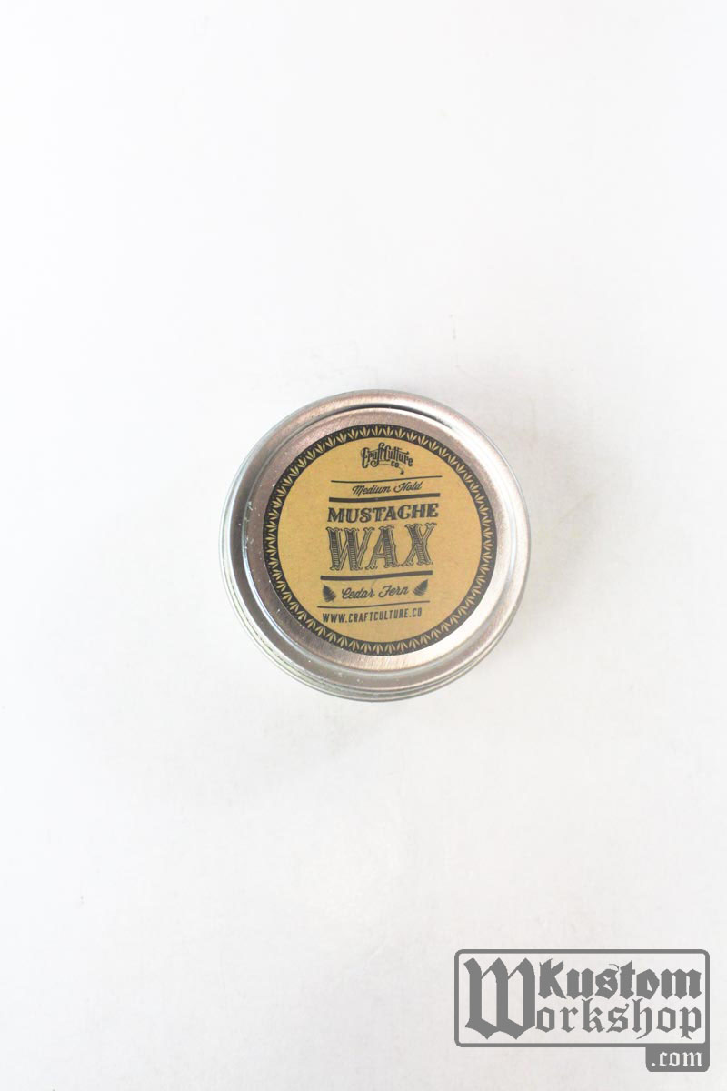 Mustache Wax Cedar Fern Craft Culture