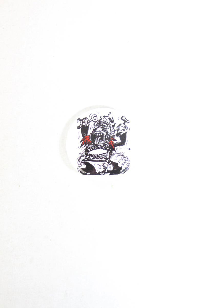 Badge Indian Larry Monkey