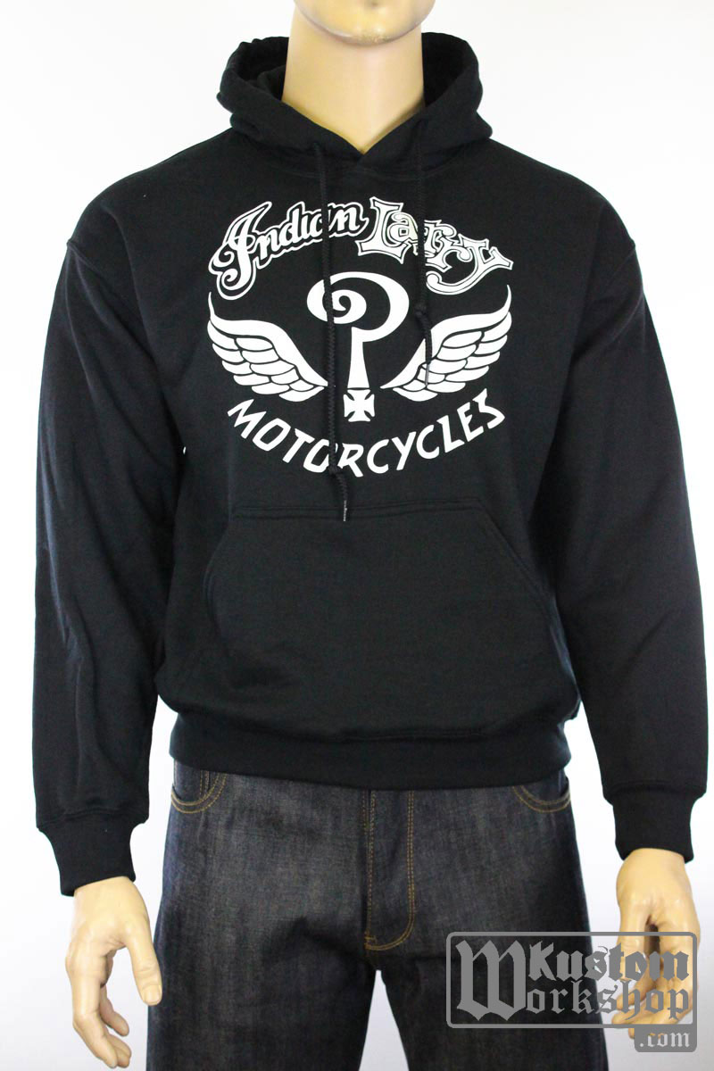 Sweat à capuche Indian Larry original logo