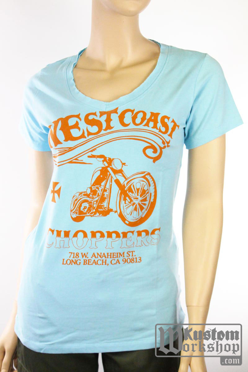 T-shirt West Coast Choppers Conquer & Divide Femme