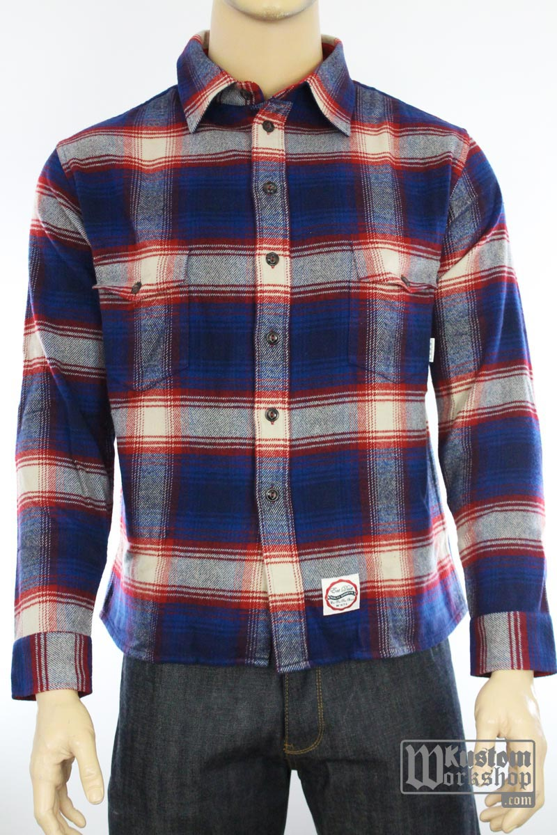 Chemise Eat Dust Northwind flanelle
