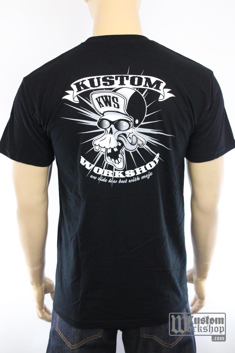 T-shirt Kustom Workshop Mad Skull homme