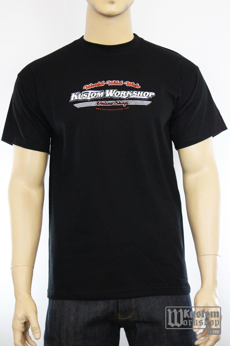 T-shirt Kustom Workshop Surf Shop homme