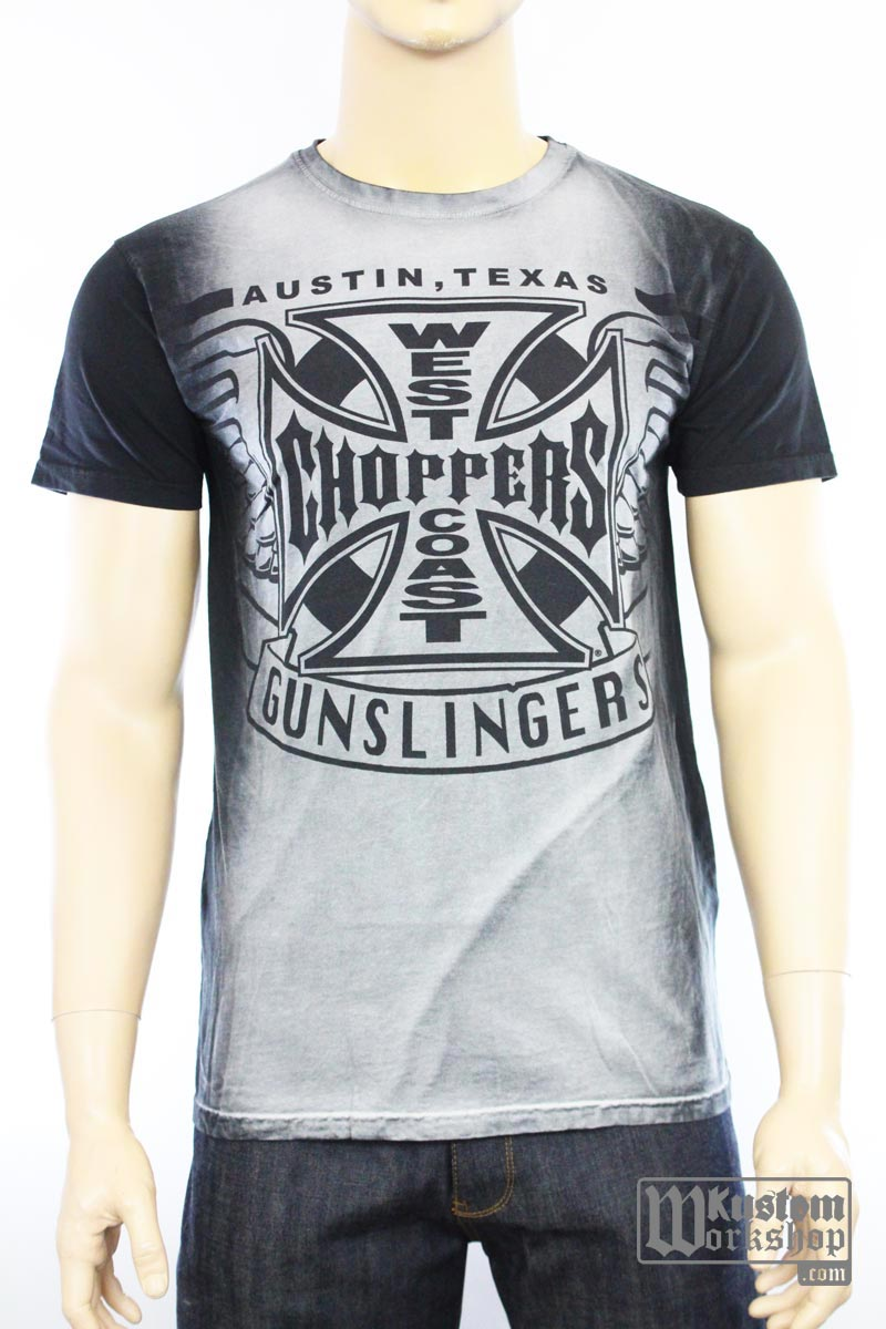 T-shirt  West Coast Choppers Gunslingers