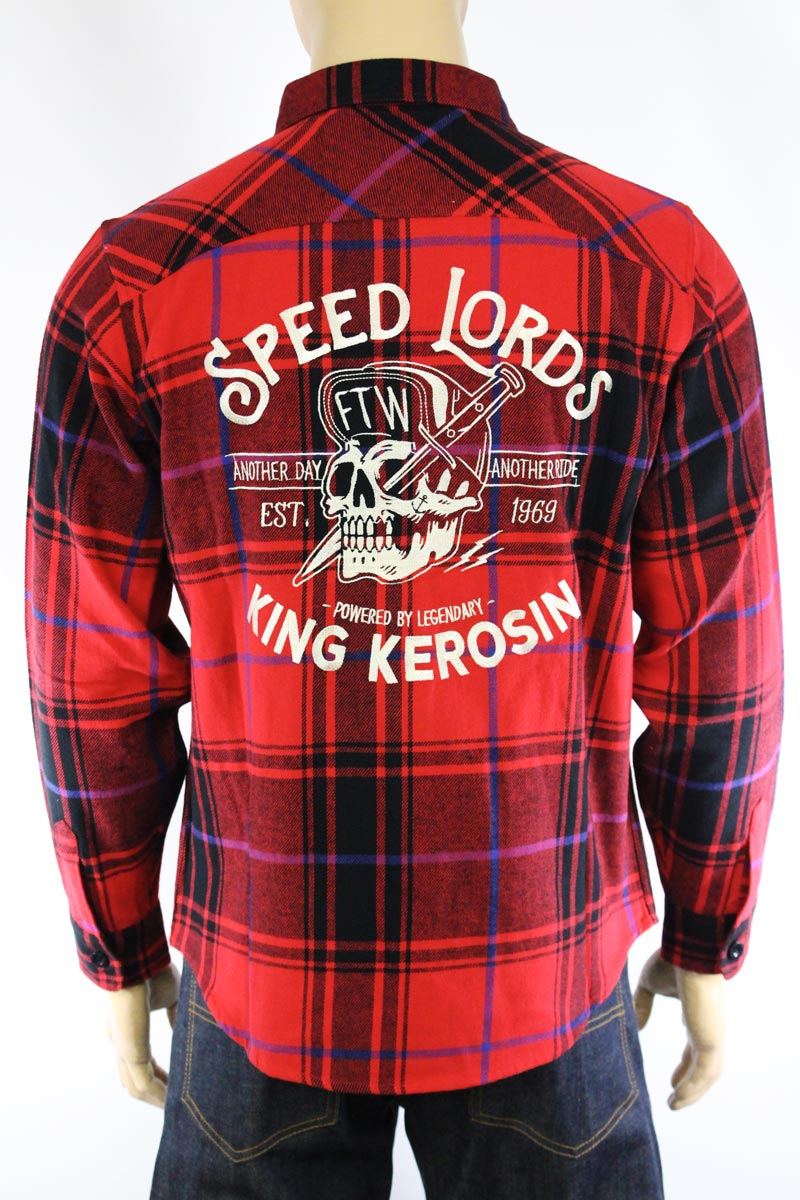 Chemise King Kerosin Speed Lords