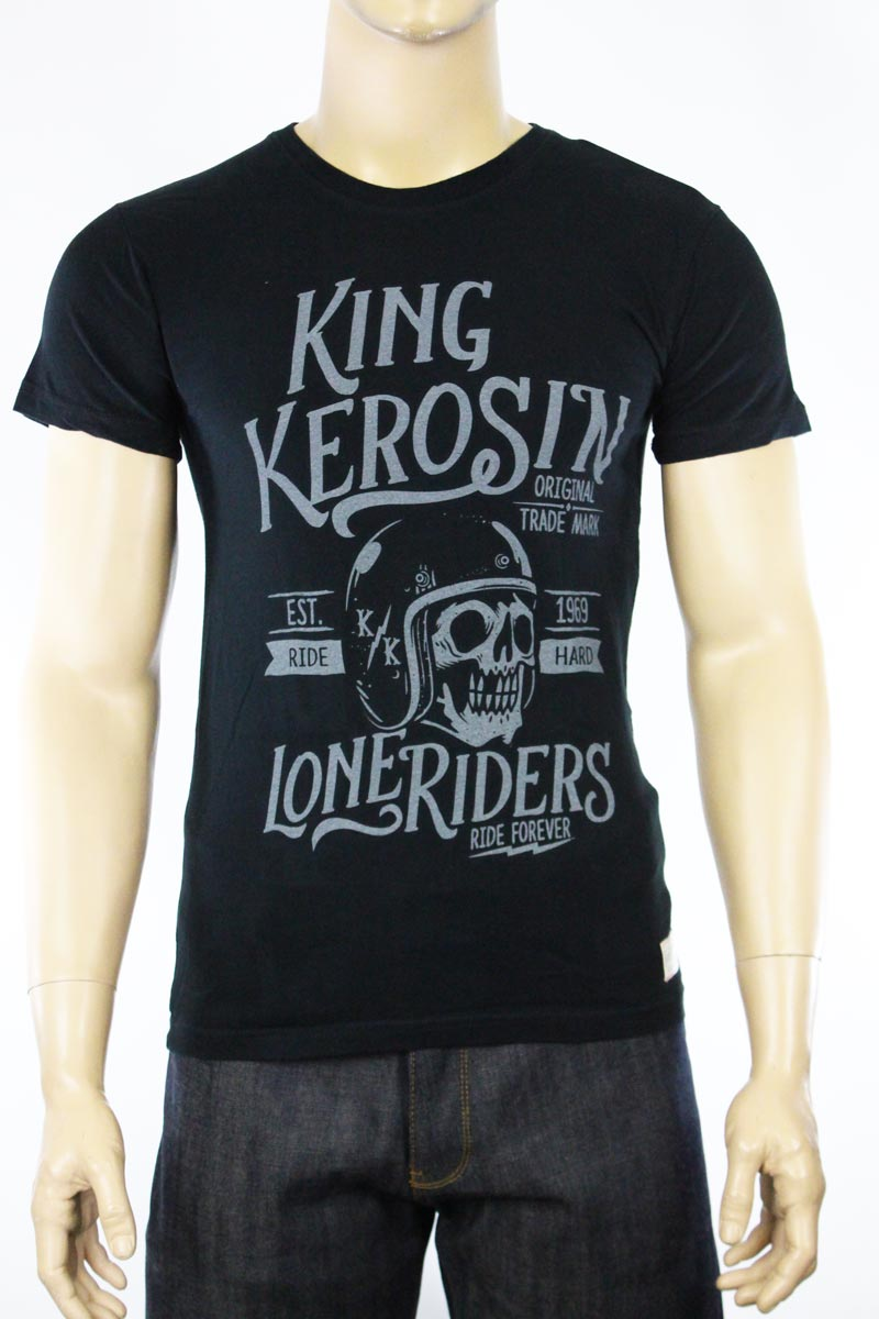 T-shirt King Kerosin Vintage Lone Riders