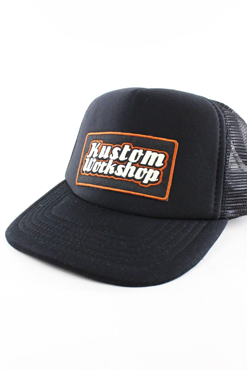 Casquette originale Kustom Workshop trucker black