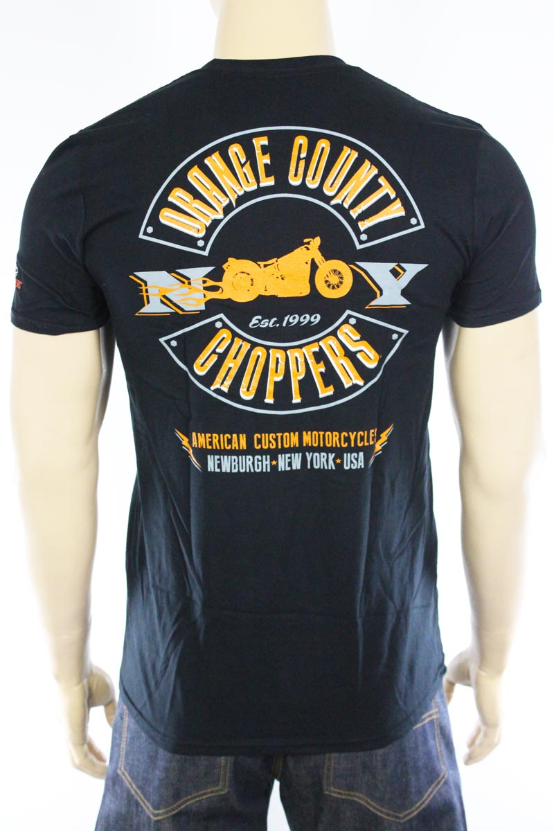 T-shirt Orange County Choppers Lightning