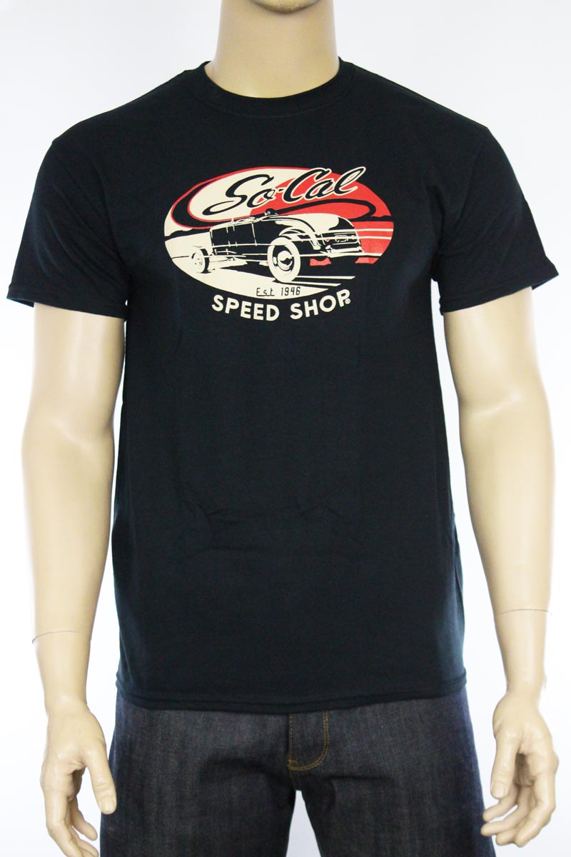 T-shirt So-Cal Speedshop Lake Roadster