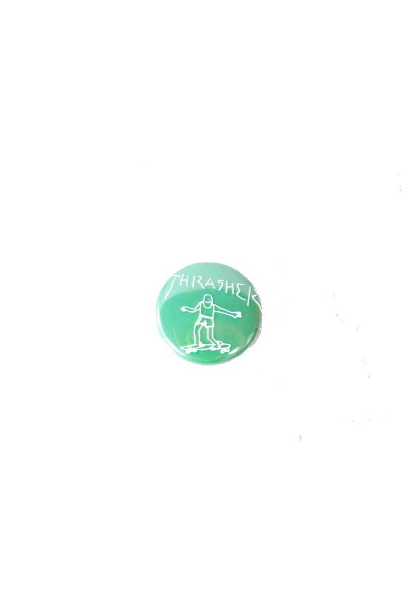 Badge Thrasher Magazine surfer