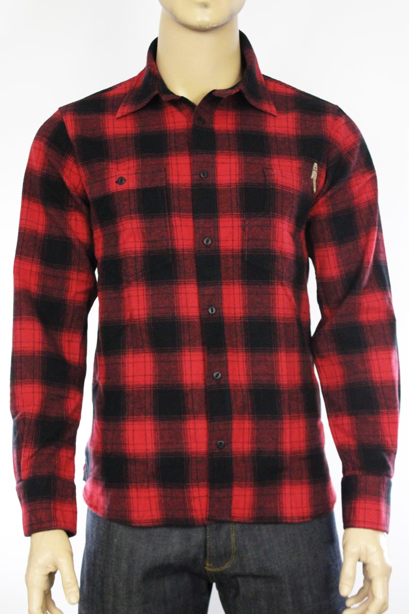 Chemise Roamer 1937 Pike Brothers red check
