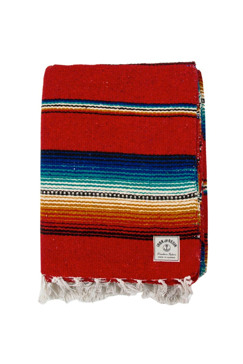 Serape Iron and Resin red