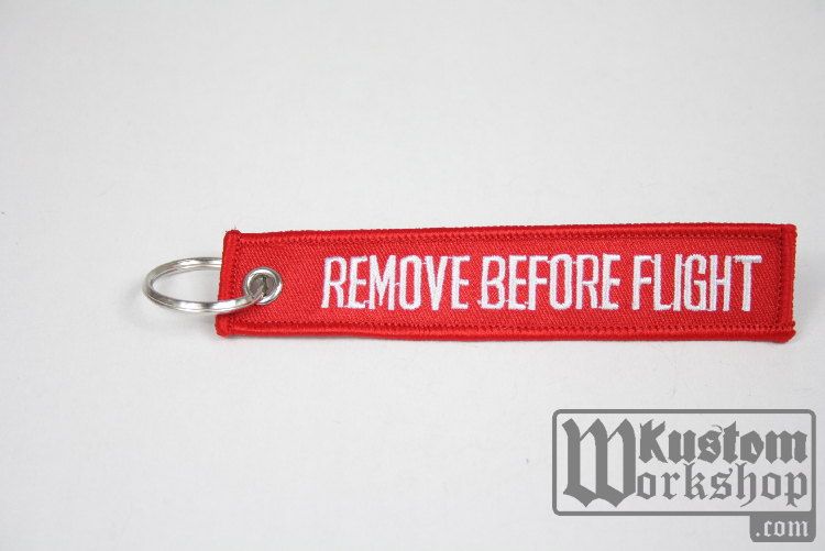 Porte-clefs Pilot remove before flight
