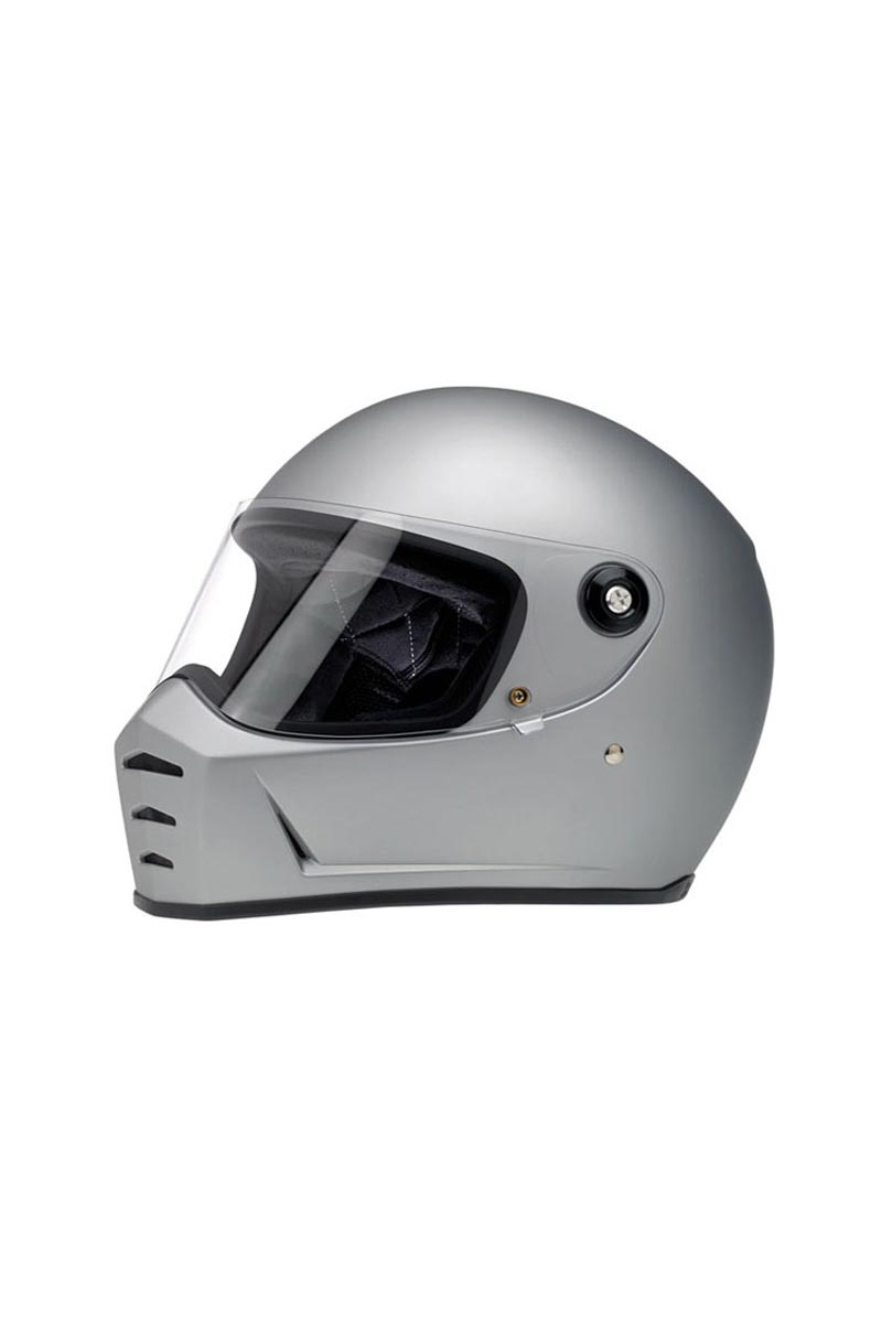 Casque Biltwell Lane Splitter silver