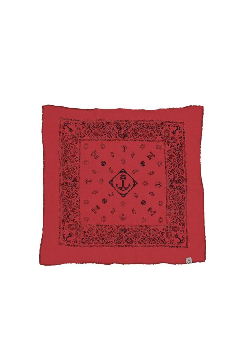 _Bandana original Iron and Resin red