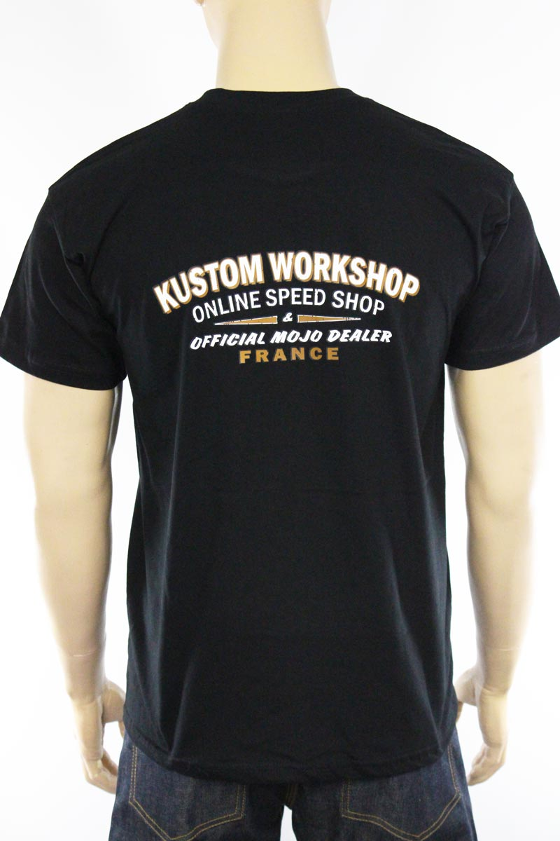 T-shirt Kustom Workshop Mojo Dealer