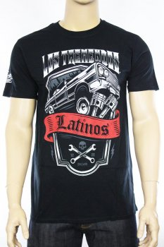 T-shirt Los Tremendos Latinos Jumpin'Carro