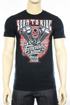 T-shirt Los Tremendos Latinos Born to Ride