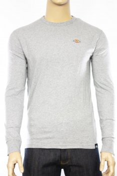T-shirt manches longues Dickies Round Rock gris